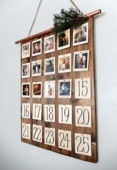 It's the Christmas Countdown! Charming Advent Calendars to Make or Buy It's the Christmas Countdown! Charming Advent Calendars to Make or Buy Advent Calenders, Diy Advent Calendar, Countdown Calendar, Photo Calendar, Homemade Advent Calendars, Calendar Pictures, 2021 Calendar, Simple Christmas, All Things Christmas