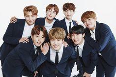 """BTS é uma família perfeita nas fotos do """"2017 BTS Festa""""   Cafeteria Nerd"""