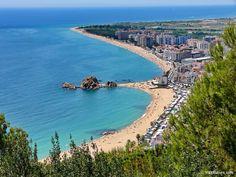 Blanes, Costa Brava, Spain.