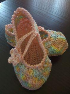 Scarpine baby crochet