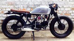 Honda eco cafe racer Infelix Custom Garaje - Google Search