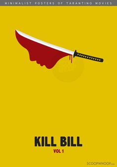 We Made These 9 Minimalist Posters Of Quentin Tarantino Movies As A Tribute To The Master Auteur Classic Movie Posters, Minimal Movie Posters, Minimal Poster, Film Posters, Minimalist Graphic Design, Graphic Design Books, Quentin Tarantino, Kill Bill Movie, Non Plus Ultra