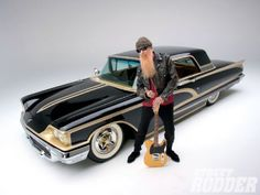 1958 Ford Thunderbird Billy Gibbons Mexican Bird (ZZTOP)...For the best in car care products, click here: http://johnbellblog.com