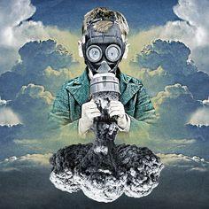 Los collages surrealistas de Luke Robson