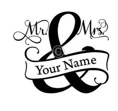 Mr And Mrs Split Monogram Svg, Split Monogram Svg, Mr And Mrs Svg, Wedding Svg, Wedding Dxf, Mr Mrs