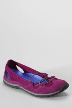 Women's Everyday Bungee Ballet Shoes from Lands' End
