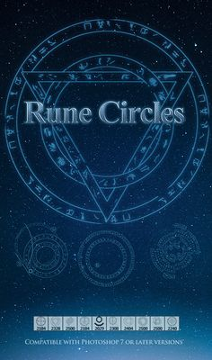 Magic Rune Circle Brush