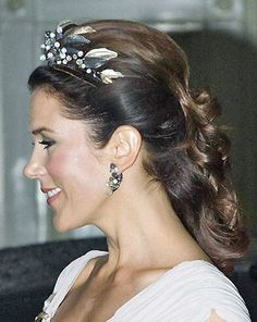 ✿ڿڰۣ(̆̃̃❤Aussiegirl #Pinterest #Princess  Crown Princess Mary of Denmark