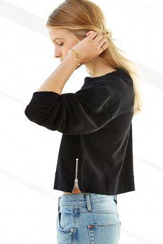 Cheap Monday Side-Zip Sweatshirt