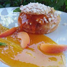 Dégoulinant d'abricots.... #menubistronomique #brioche #abricot #dessert #pâtisserie #pastry #faitmaison #Food #Foodista #PornFood #Cuisine #Yummy #Cooking