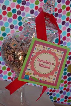 Sweet First Candy Shoppe birthday | CatchMyParty.com