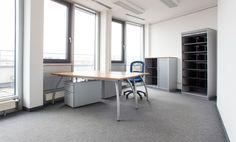 Voll ausgestattete Büroräume im modernen Penthouse-Büro #Büro, #Bürogemeinschaft, #Office, #Coworking, #München, #Munich