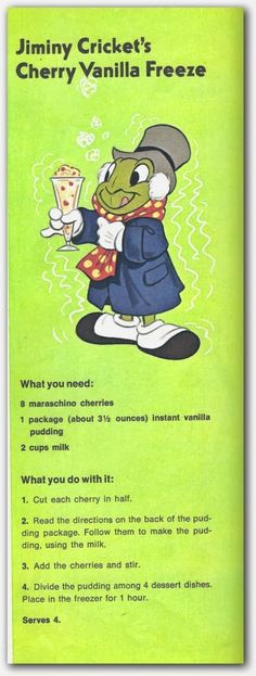Easy & Fun Disney Drink!