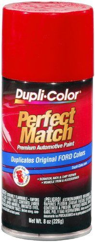 Dupli-Color BFM0306 Cardinal Red Ford Exact-Match Automotive Paint - 8 oz. Aerosol. For product info go to:  https://www.caraccessoriesonlinemarket.com/dupli-color-bfm0306-cardinal-red-ford-exact-match-automotive-paint-8-oz-aerosol/