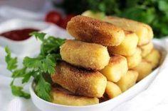 krokiety-ziemniaczane-mini-krokieciki-przekaski-na-sylwestra-imprezowe-przekaski-3 Gnocchi, Pretzel Bites, Potatoes, Bread, Vegetables, Ethnic Recipes, Party, Food, Recipes