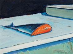 Wayne Thiebaud - Half Salmon, 1961