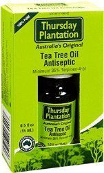 Thursday Plantation Tea Tree 100% Pure Oil (0.5 floz) by Nature's Plus. $12.04. Thursday Plantation Tea Tree Oil is a powerful medicine which is relatively gentle to the skin. It penetrates and heals while being kind to healthy tissue. Clinical trials have proven its value in treating sinusitis, sore throat, tinea, Candida, boils, acne, golden staph infections and many other conditions.  The Original - Thursday Plantation was world's first scientific testing plantation. ...