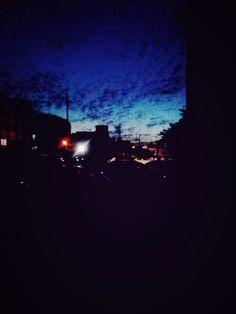 구름이 예뻤다.하교하는 길 2015.09.15.Tue. #구름 #노을빛