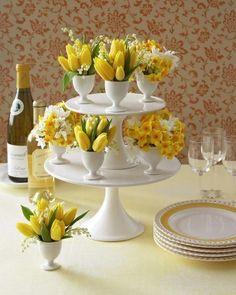 More egg cup vases  |  ooh la frou frou