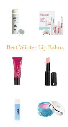 The best lip balms for colder weather