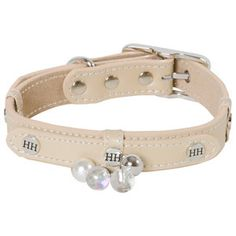 dog collar Beige, Lifestyle, Bracelets, Dogs, Accessories, Jewelry, Fashion, Pearls, Pets