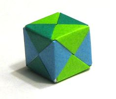 wikiHow to Fold an Origami Cube -- via wikiHow.com