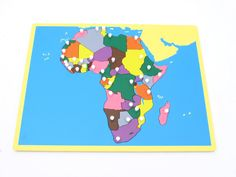 Board Map of Africa