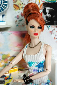 Erin, The Artiste by Léah | Flickr - Photo Sharing!