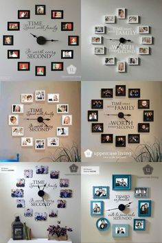 Unique Wall Decor Ideas With Clocks 19