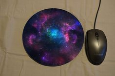 NEBULA Printed Mouse Pad Mouse Mat Sublimation Printed Desk Decor PC Computer Accessory Graduation Qualified Birthday Novelty Gift Present by MillHillSublimation on Etsy