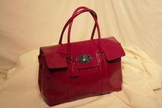 Mulberry Raspberry Leather Bayswater Handbag   eBay