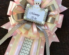 Little princess baby shower mommy to be pin by Marshmallowfavors