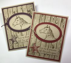 Boy Cards, Kids Cards, Horse Cards, Birthday Cards For Boys, Hand Stamped Cards, Stamping Up Cards, Fathers Day Cards, Animal Cards, Pretty Cards