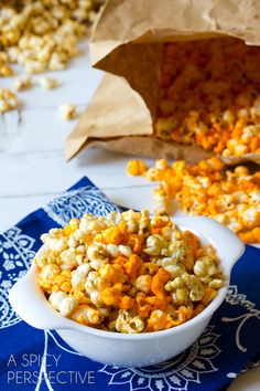 Make your own legendary Garrett's popcorn using this copycat recipe.