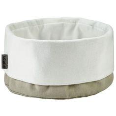 Brødpose, sand/hvit i gruppen Servering / Skåler & Serveringsfat / Brødkurver hos ROOM21.no (100725)