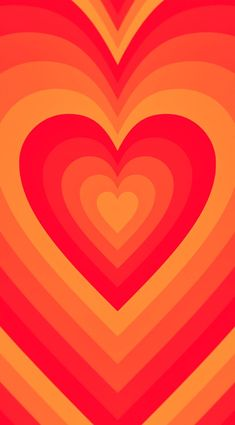 Orange Wallpaper, Hippie Wallpaper, Trippy Wallpaper, Graphic Wallpaper, Iphone Wallpaper Tumblr Aesthetic, Heart Wallpaper, Iphone Background Wallpaper, Aesthetic Wallpapers, Cute Patterns Wallpaper