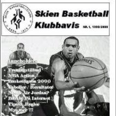 Skien Basketballklubb - first and only magazine in 1999.