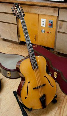 Mowry Octave Mandolin #LardysChordophoneOfTheDay #Mandolin ~ https://www.pinterest.com/lardyfatboy/lardys-other-fretted-chordophones-of-the-day/ ~