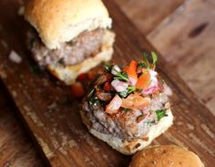 Vintage Kitchen Notes: Skillet Blue Cheese Burgers