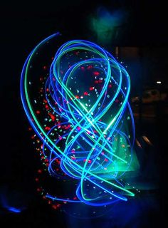 """The term light painting also encompasses images lit from outside the frame with hand-held light sources. Light Painting Photography can be traced back to the year 1914 when Frank Gilbreth, along with his wife Lillian Moller Gilbreth, used small lights and the open shutter of a camera to track the motion of manufacturing and clerical workers. Man Ray, in his 1935 series """"Space Writing,"""" was the first known art photographer to use the technique."""