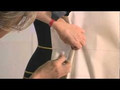 How to drape a ballgopwn. haute couture moulage, drapping at Christian Dior - YouTube