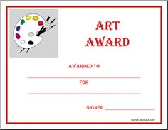 1000+ images about award certificates on Pinterest | Award ...