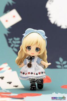Cute Anime Alice in Wonderland Alice Nendoroid Action Figure Real Clothes Ver. Anime Chibi, Manga Anime, Figurines D'action, Anime Figurines, Kawaii, Hobby Shops Near Me, Hobby Lobby Christmas, Anime Toys, Polymer Clay Dolls