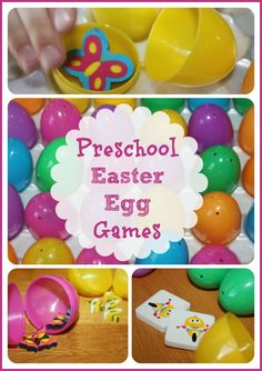 Simple Easter Egg Games for Kids