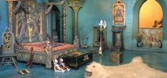 Colleen Moore's Fairy Castle - prince's bedroom