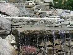 Kaskada wodna Lakes, Firewood, Garden, Woodburning, Garten, Lawn And Garden, Gardens, Gardening, Ponds