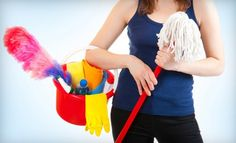 Groupon - Two, Three, or Four Man-Hours of Housecleaning from MaidPro (Up to Half Off). Groupon deal price: $39.00