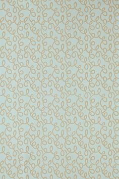 """VERMICELLI: Based on an 18th Century textile design known as Vermicelli, which translates literally as 'little worm';. Full roll width is 53cm/21"""", roll length is 10m/11yds and pattern repeat is 13cm/5 1/4"""". Available in 4 colourways."""