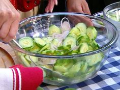 Hill Country BBQ cucumber salad