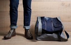 Hard Graft Square1 Holdall Ocean
